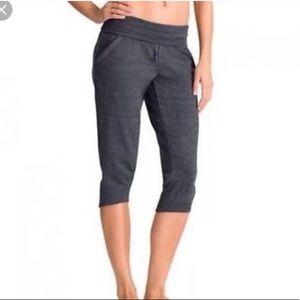Athleta Crop Joggers Pants Elastic Drawstring